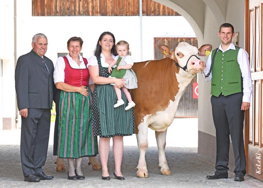 Fleckviehzüchter des Jahres 2019: Familie Fürst, Lasberg, Oberösterreich