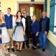 Familie Truppe (v. l. n. r.): Tochter Michaela und Lebenspartner Stefan, Betriebsführerehepaar Daniela und Richard, Eltern Elisabeth und Armin