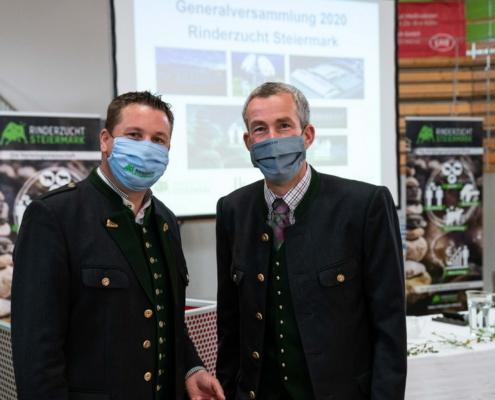 Generalversammlung RSTM 2020 Obmann Bischof und GF Pfleger