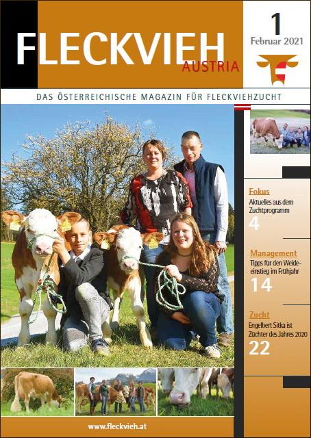 Fleckvieh Austria Magazin 1_2021