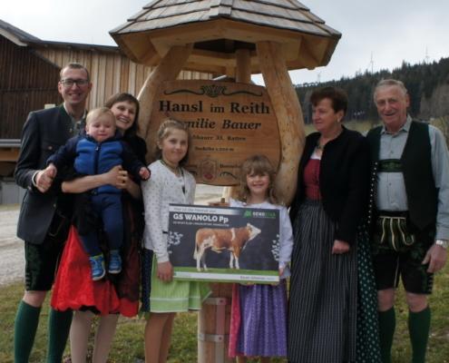 Familie Bauer, Ratten, Steiermark