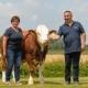 Familie Günzinger aus St. Georgen bei Obernberg, Oberösterreich betreibt Fleckviehzucht auf höchstem Niveau