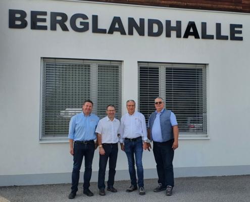Sebastian Auernig und Reinhard Pfleger zu Gast in Bergland